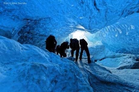 Grotte de glace, Vatnajokul, Islande