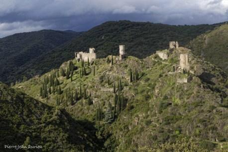 Chateau de Lastours, 29 mai 2016