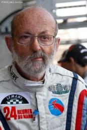Monsieur Henri Pescarolo, quadruple vainqueur des 24 heures du Mans, Le Mans, 9 juillet 2016