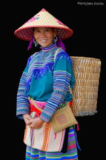 Portrait de femme H'Mong, Sin Cheng, Octobre 2016