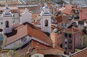 Toits de Sao Miguel, Lisbonne, Avril 2017