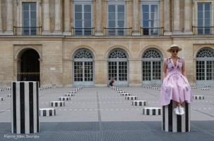 Touriste au Palais Royal