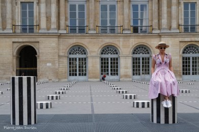 Touriste au Palais Royal