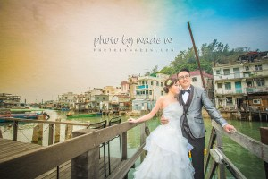 pre-wedding hong kong wedding photo by wade w. central tai o 大澳