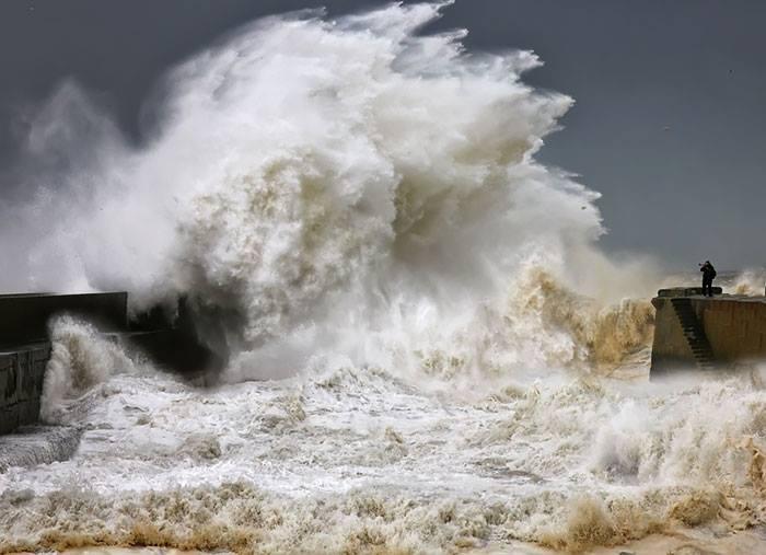 фотография волны