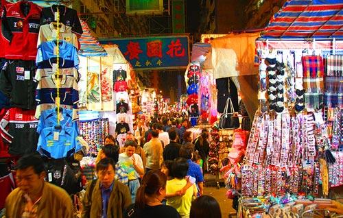 香港購物地圖之特色街道:女人街-搜狐廣東