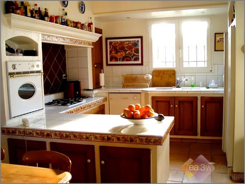 commercial kitchen tile modern cabinet doors 6大难题逐一击破 厨房装修秘籍全揭秘-搜狐数码