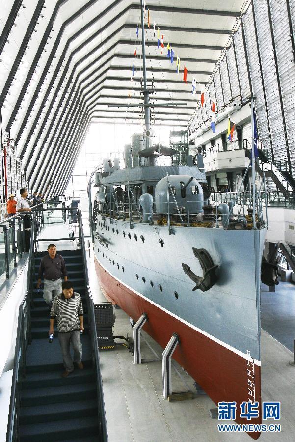 武漢中山艦博物館向公眾開放 紀念辛亥革命百年(組圖)-搜狐滾動