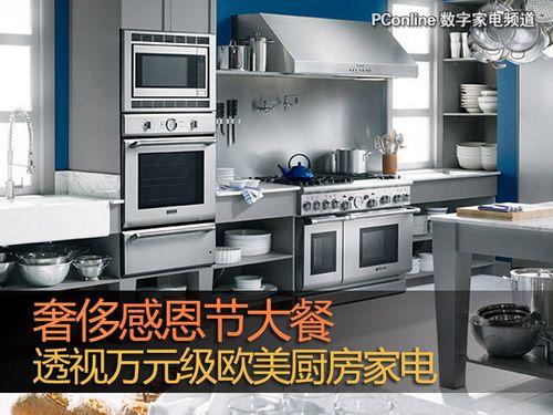modular kitchen usa laminate floors in 奢侈感恩节大餐透视万元级欧美厨房家电 搜狐数码 模块化厨房美国