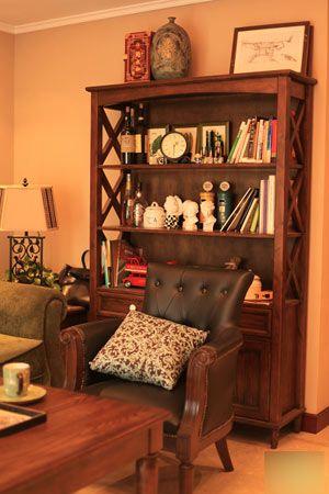 kitchen desk chair cost of custom cabinets 美式乡村风格装修图片 90平米小户型空间超雅致-搜狐滚动