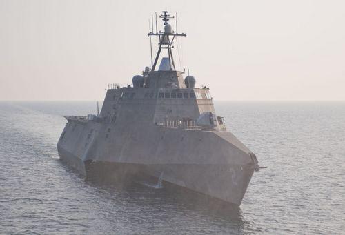 資料圖:美國『獨立』號瀕海戰斗艦。