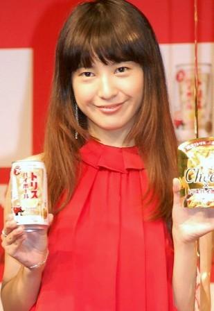 吉高由里子紅裙亮相代言 期待2020東京奧運-搜狐娛樂