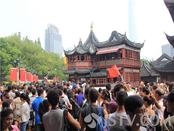 國慶期間上海市城隍廟外灘南京路人如潮涌(組圖)-搜狐滾動