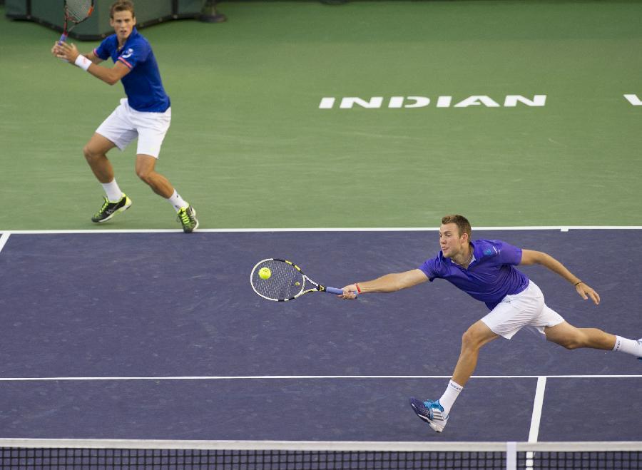 (體育)(2)網球——巴黎銀行賽:波斯皮西/杰克·索克奪得男雙冠軍(圖)-搜狐滾動