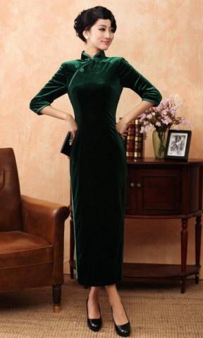東方旗袍|旗袍怎么穿。不容忽視的8個細節!