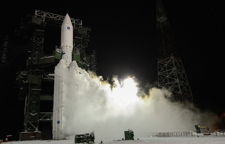 The Angara carrier rocket