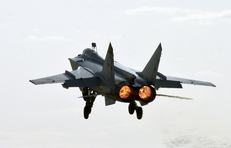 MiG-31 aircraft (archive)
