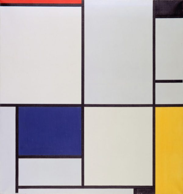 Tableau I, by Piet Mondriaan