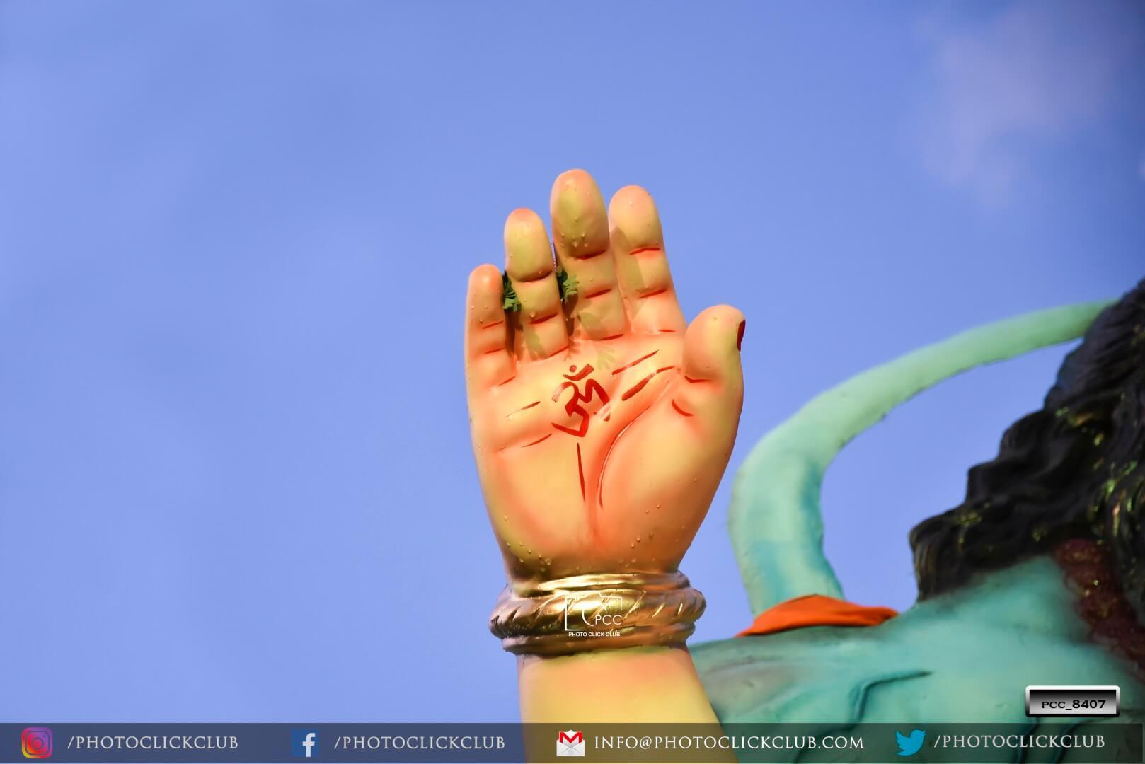 Lord Ganesha Ohm Hand - by photoclickclub