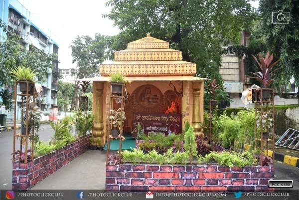 Yoginagar Pandal in Ganesh Utsav 2020