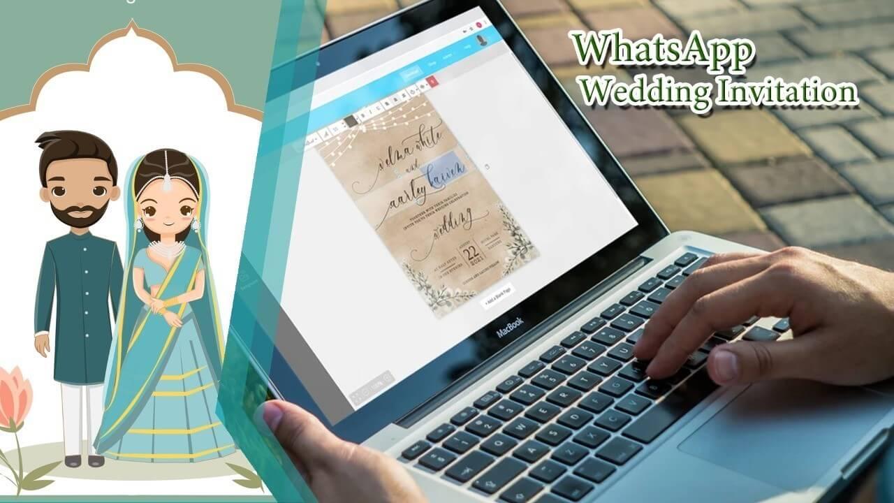 Watsapp Wedding Invitation Services - at PhotoClickClub