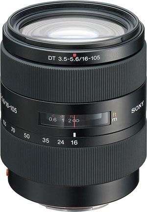 SAL 16-105mm f3.5-5.6 DT lens