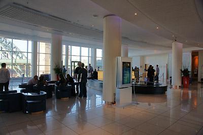 Hilton Foyer with DRO