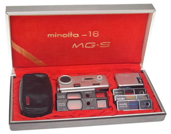Minolta-16 MG-S kit