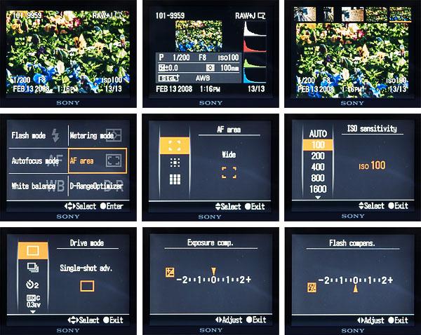 A200 screens 2
