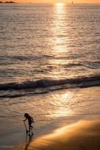Coucher du soleil de Bretagne