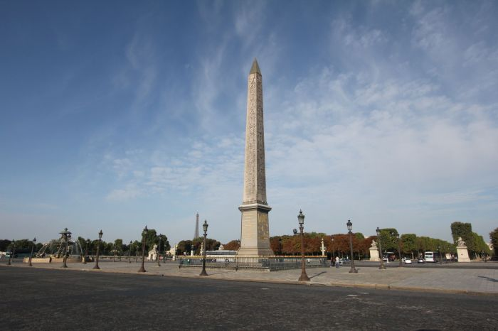 Obelisk of Luxor, Place de la Concorde