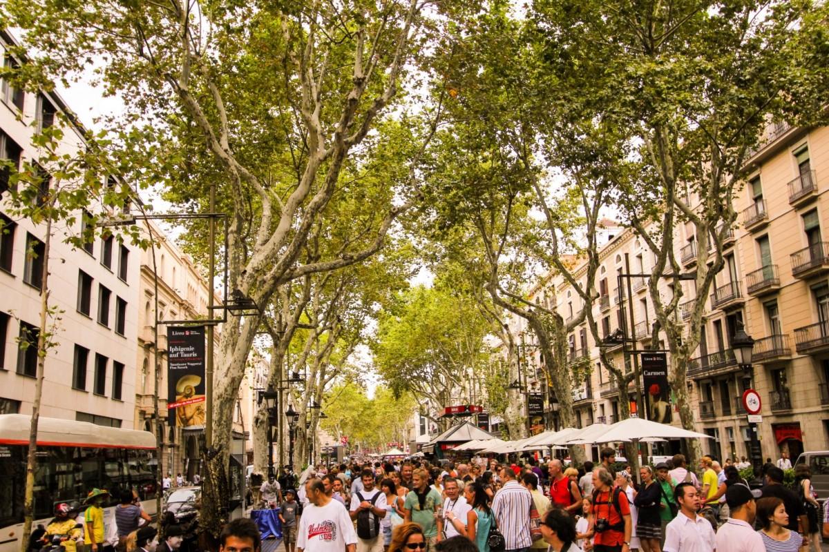 In memory of victims of Barcelona's terror attack