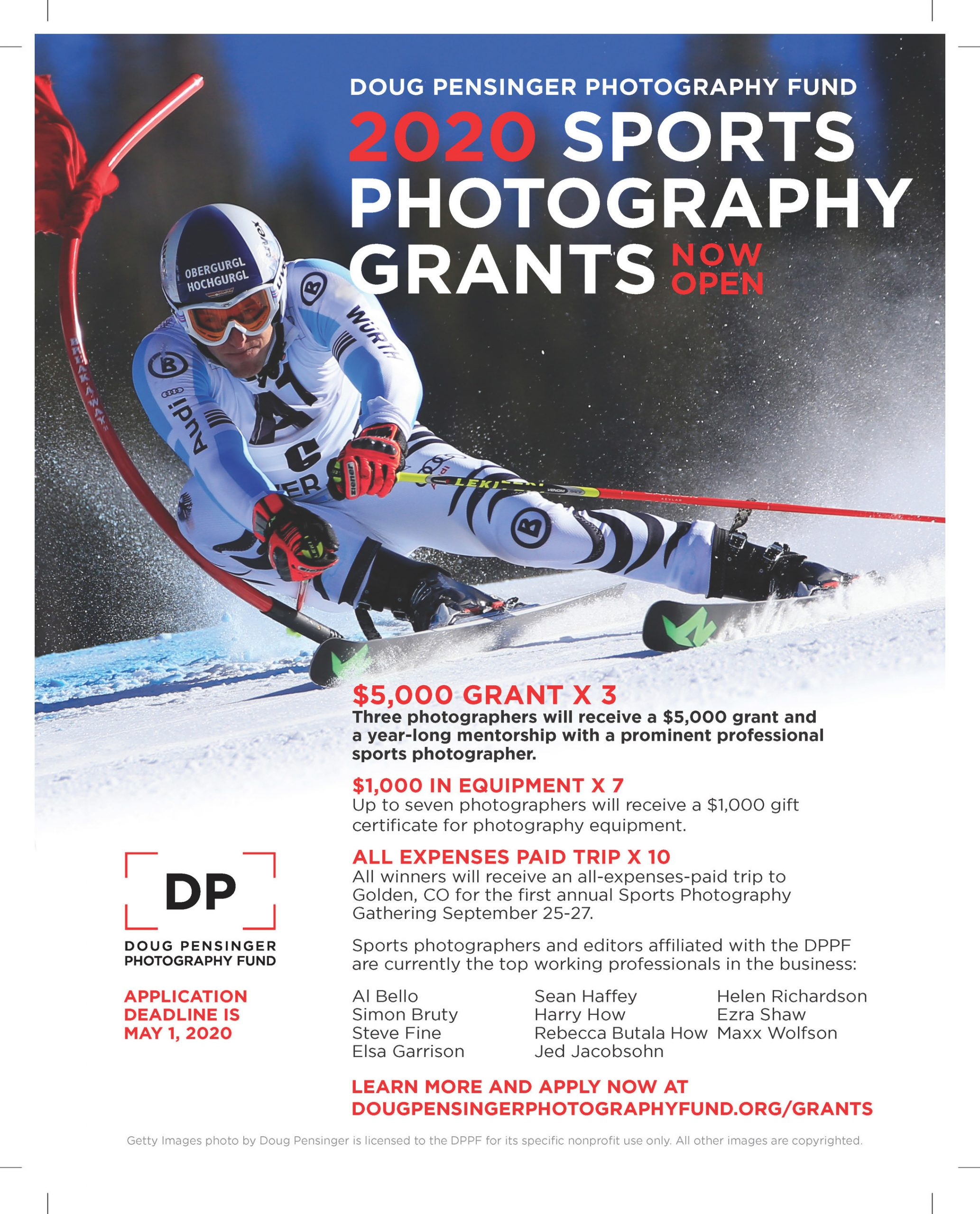 DPPF 2020 Sports Photography Grants & Mentorships