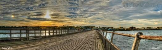 Sunset Over Pier