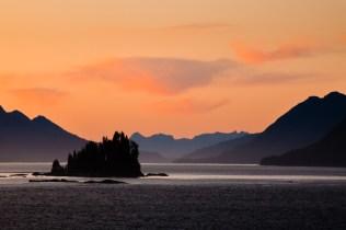 Inside Passage Morning Alaska