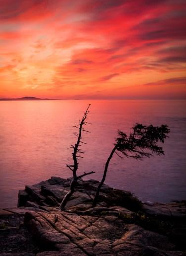 Sunrise over Otter Point
