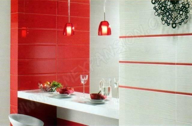 Carrelage Rouge Et Blanc