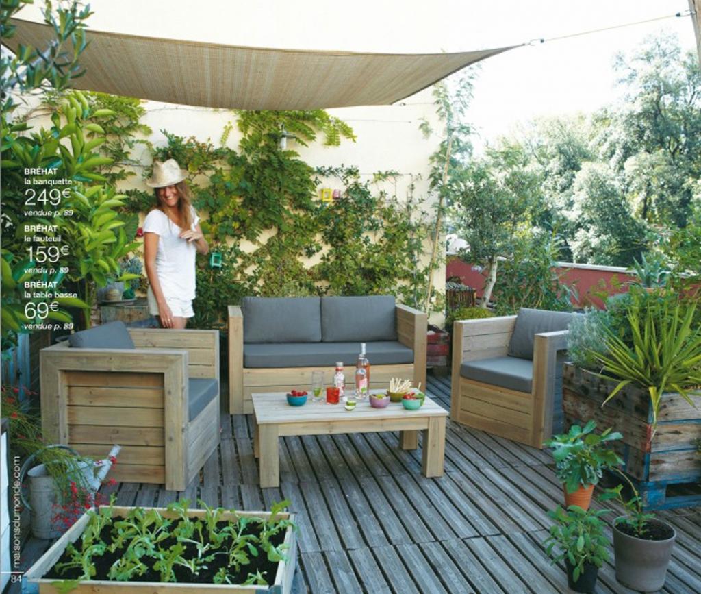 Amenagement Terrasse Salon De Jardin | Canapé De Terrasse Petit Bud ...