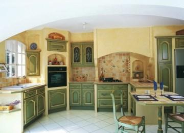 Cuisine Style Provencale Jaune | Témoignages Lorraine Masse Designer ...