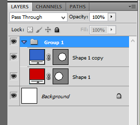 Layer groups allow us to place similar object layers in folders to keep them separate.