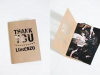 Creative Thank You Cards Ideas