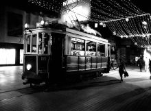 Istanbul BW film photos
