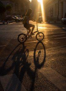 Fine art street photography Bucharest.