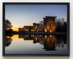 Temple of Debod - Madrid, fine art print