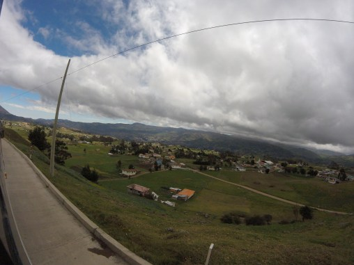 Camino a Ingapirca