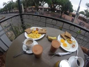 Breakfast in Manso Hotel