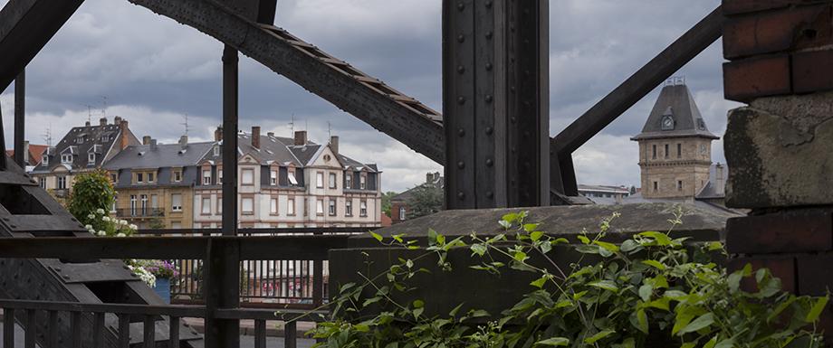 Sarreguemines, rue du parc © Michel Bourguet