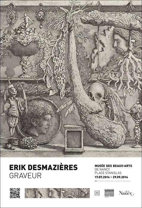 Affiche Erik Desmazieres - photo Michel Bourguet