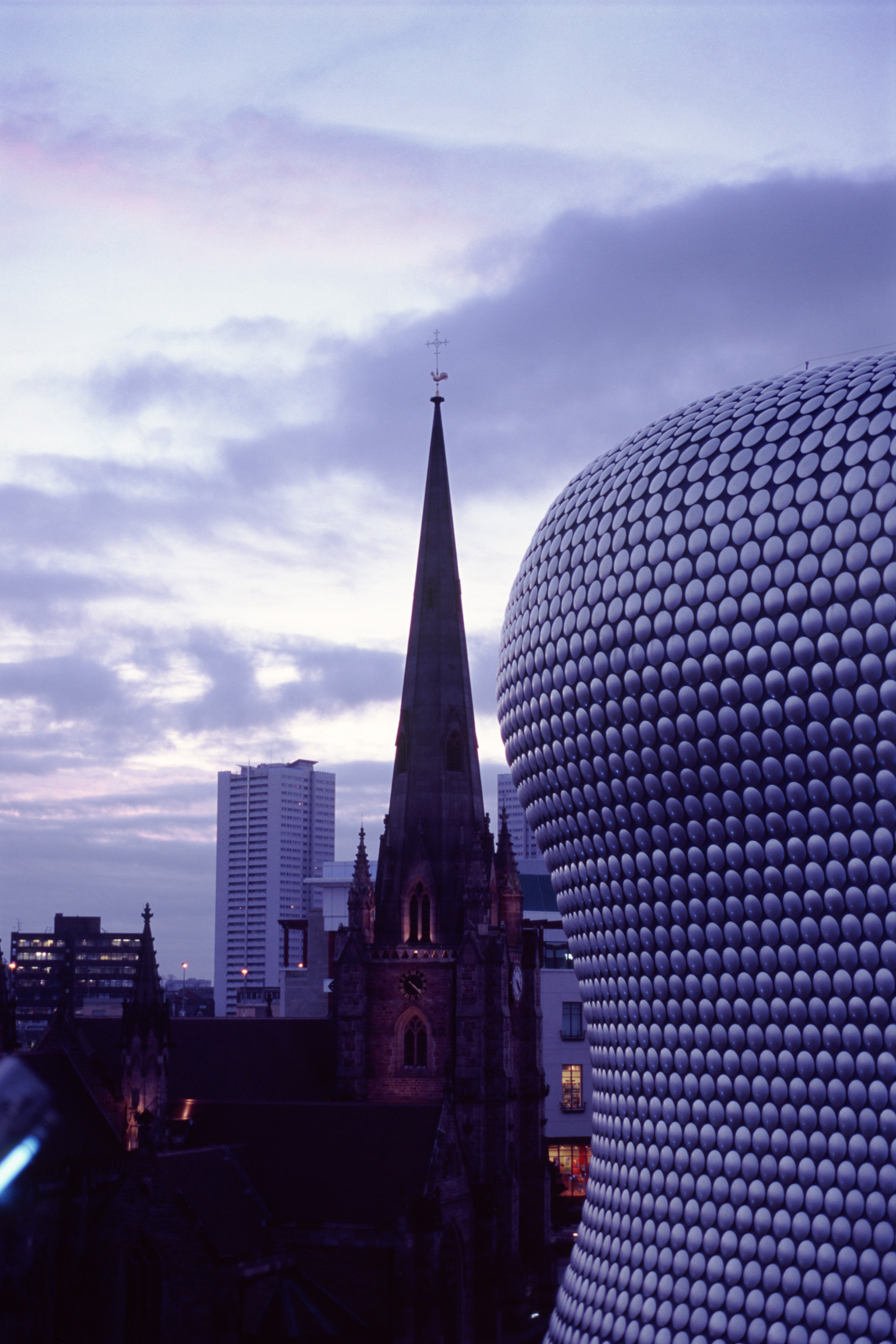 Free Stock photo of Exterior of the Bullring Centre with