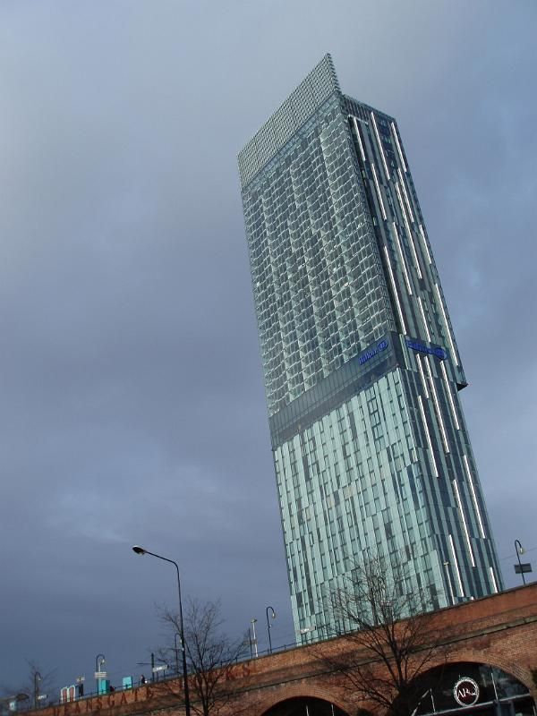 Free Stock photo of Famous Architectural Beetham Tower in